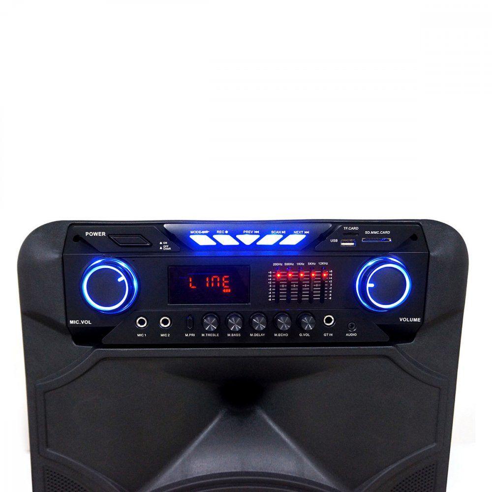 Caixa de Som Amplificada TRC 515  Bluethooth 500W