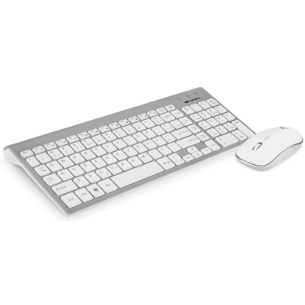 Combo Teclado e Mouse Sem Fio K-W510SWHBranco C3TECH