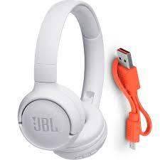 Fone De Ouvido Com Fio Jbl T500 Branco
