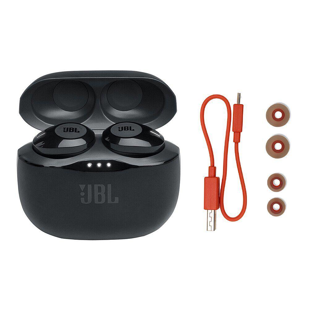 Fone de Ouvido JBL Tune 120TWS Bluetooth Preto