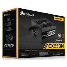 Fonte Corsair Cx550 80 Plus Bronze - Modelo Novo
