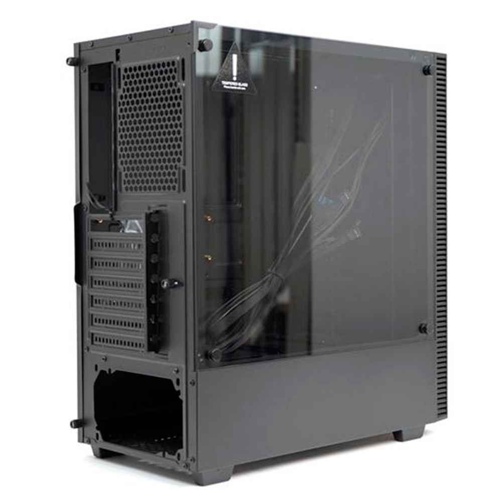 Gabinete  Gamer T-Dagger Modelo Cube T-Tgc305bk Preto