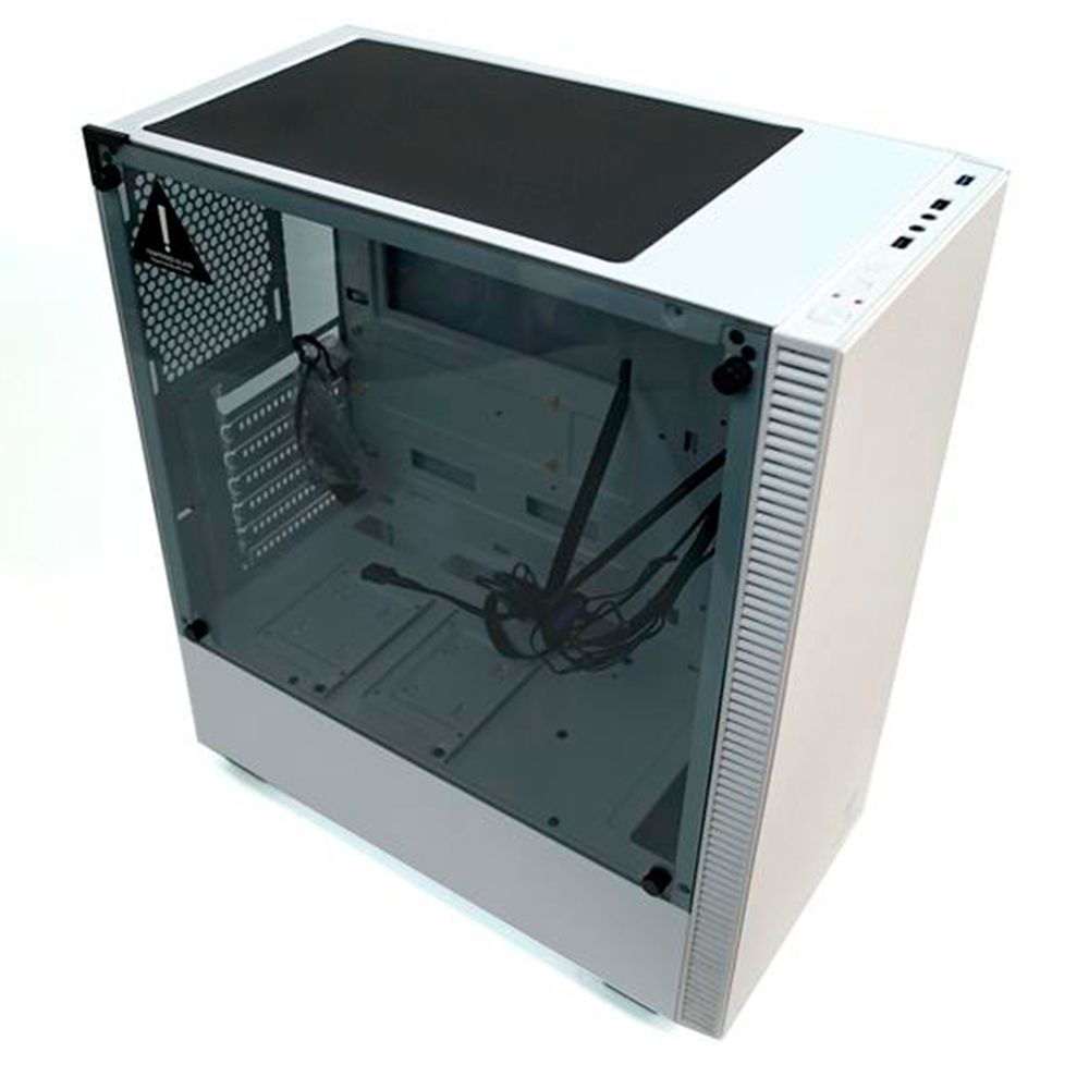 Gabinete Gamer T-Dagger Modelo Cube T-Tgc305wh Branco