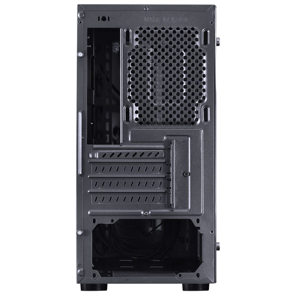 GABINETE MIDTOWER VX GAMING SPECTRUM PRETO, LED RGB 7 CORES - SP7LAF