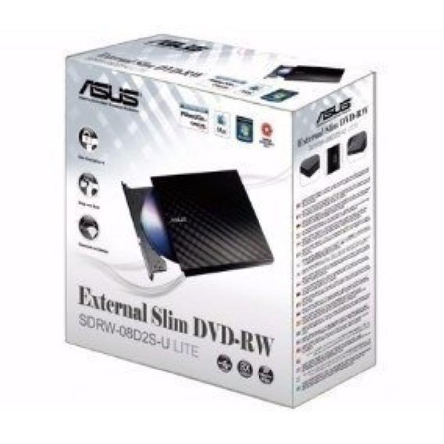 Gravador E Leitor Cd/dvd Externo Asus Stylish Diamond ASUS08D2S-U