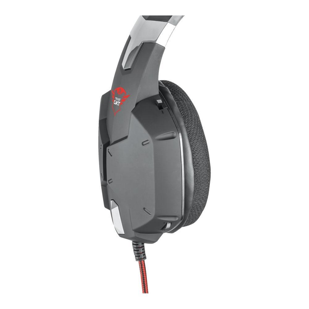 Headset Gamer Carus GXT322 Dynamic Trust Preto PS4 XBOX PC