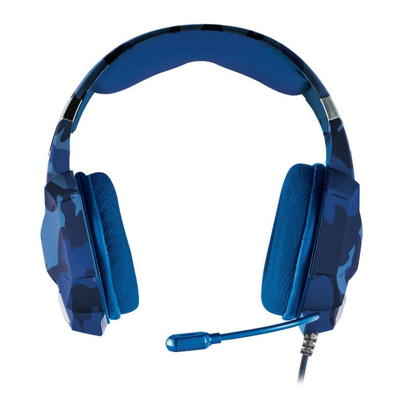 Headset Gamer Carus GXT322 Trust Azul HDST PS4 XBOX One PC