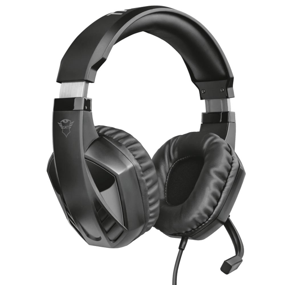 Headset Gamer Celaz GXT412 Preto Trust HDST PS4 XBOX One PC