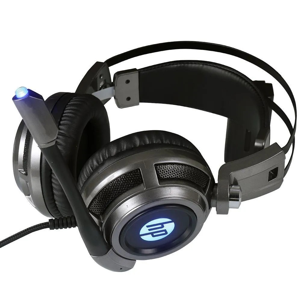 Headset Gamer HP P2+USB com Led H200