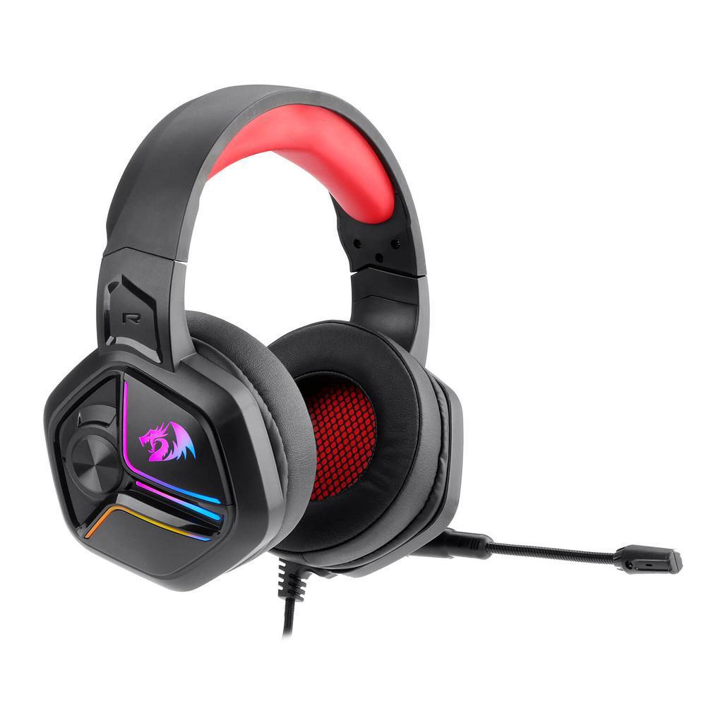 Headset Gamer Redragon Ajax com Led Preto H230