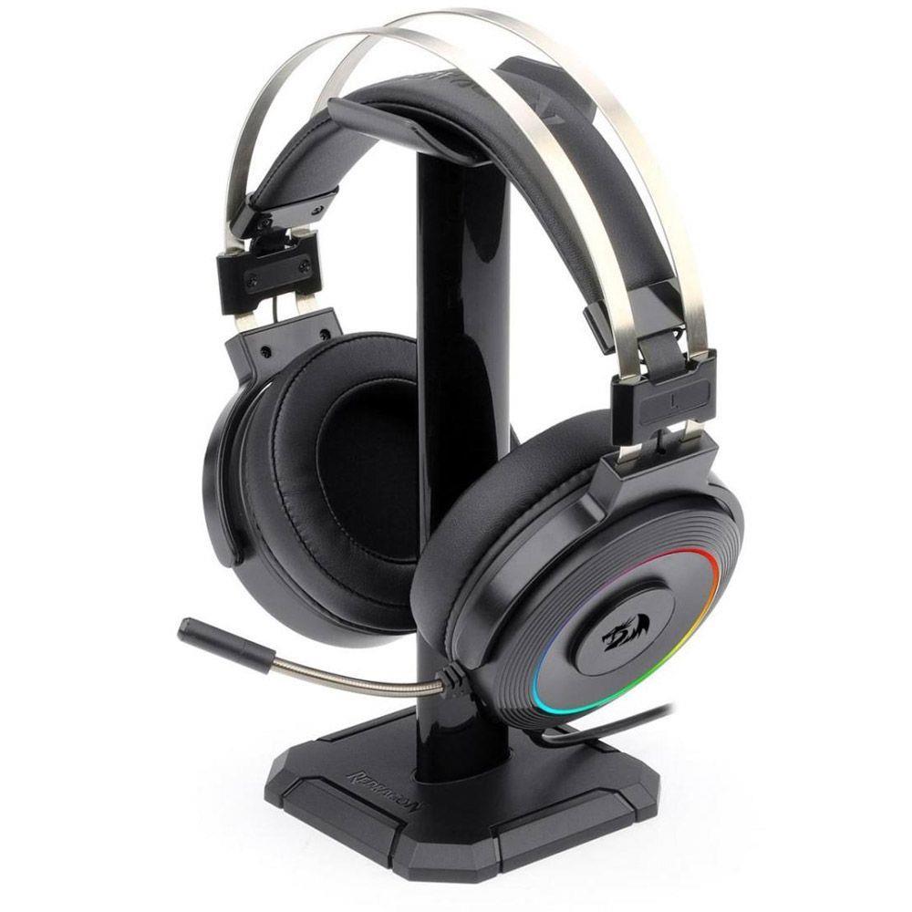 Headset Gamer Redragon Lamia H320 RGB  7.1 Preto