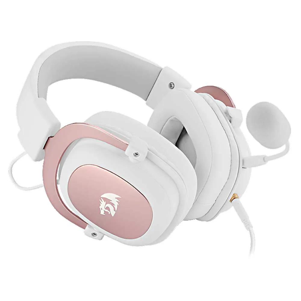 Headset Gamer Redragon Zeus H510 7.1 Branco Som Surround