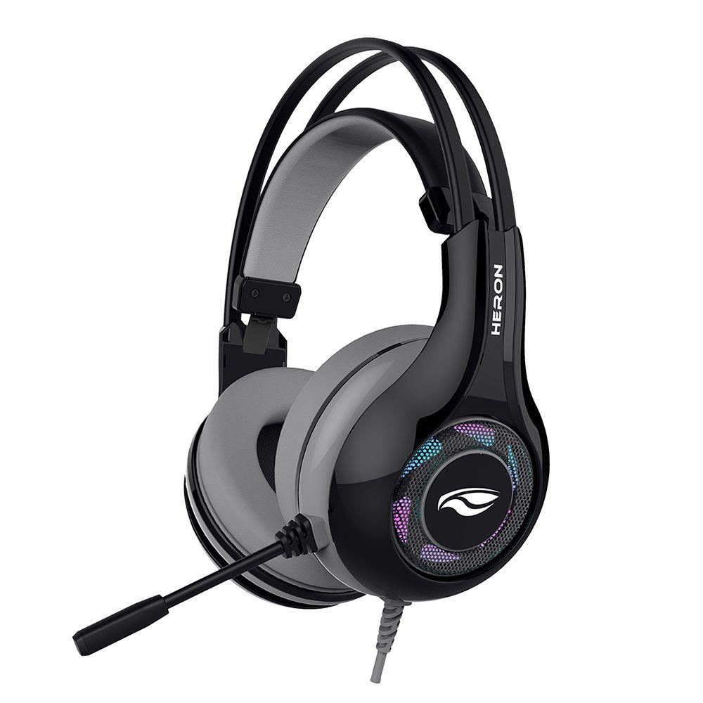 Headset Gamer Usb Heron 2 Ph-g701 Preto C3tech