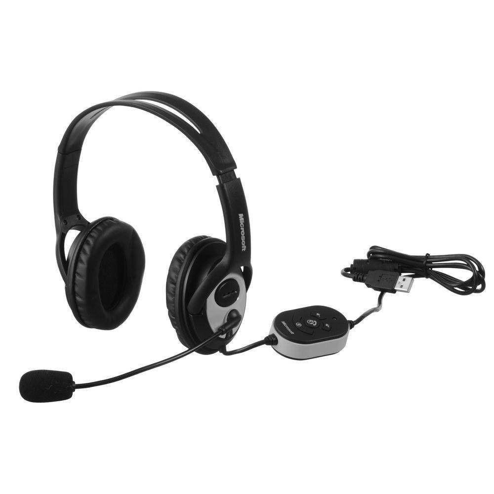 Headset Lifechat Microsoft Lx 3000 Com Microfone