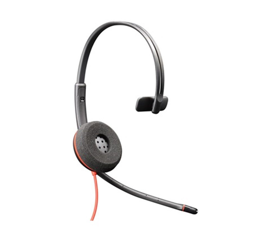 HEADSET USB - PLANTRONICS BLACKWIRE C3210