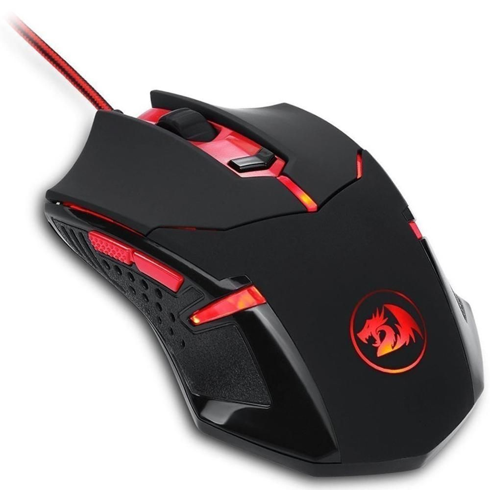 Kit Gamer Redragon 4 em 1 S112 TECL MOUSE HEAD MOUSE PAD