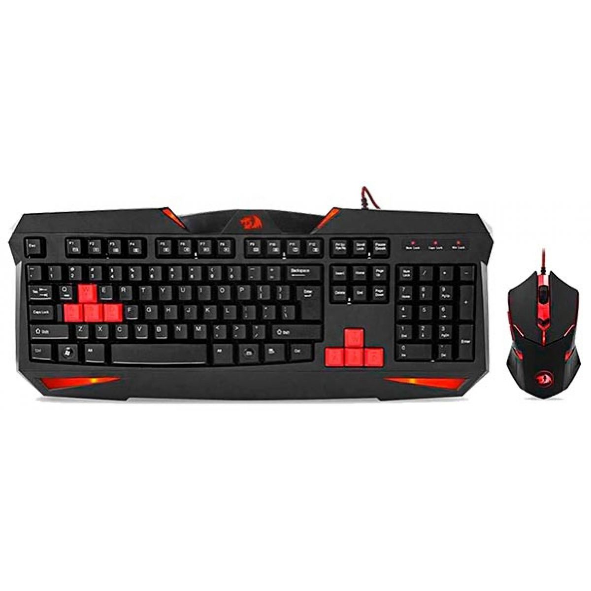 Kit Gamer Redragon Teclado e Mouse S101-2