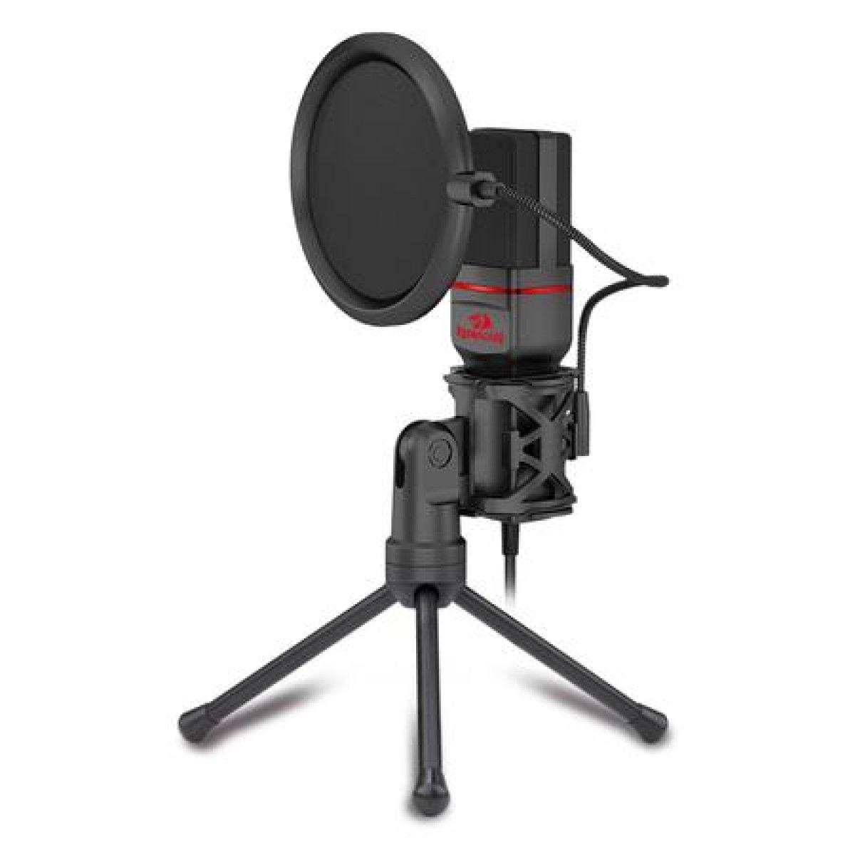 Microfone Streamer Seyfert Redragon GM100
