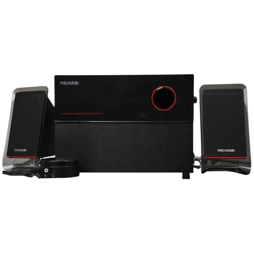 Microlab Caixa De Som Speaker 2.1ch, 40w Rms M200