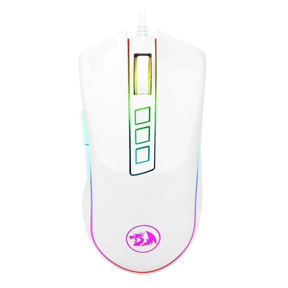 Mouse Gamer Redragon Cobra Chroma M711 Branco