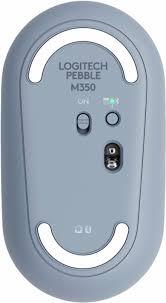 Mouse Logitech Pebble M350 Blue Grey