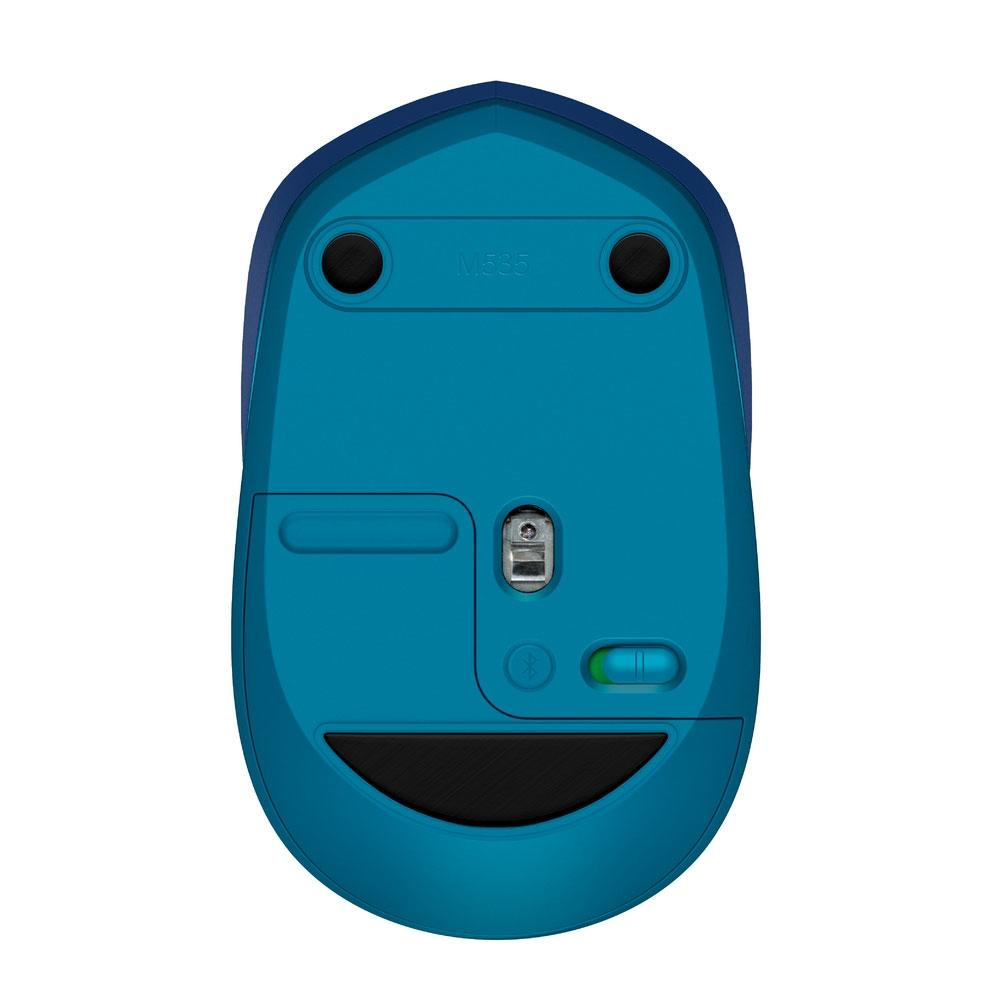 Mouse Logitech Sem Fio Bluetooth M535 Azul