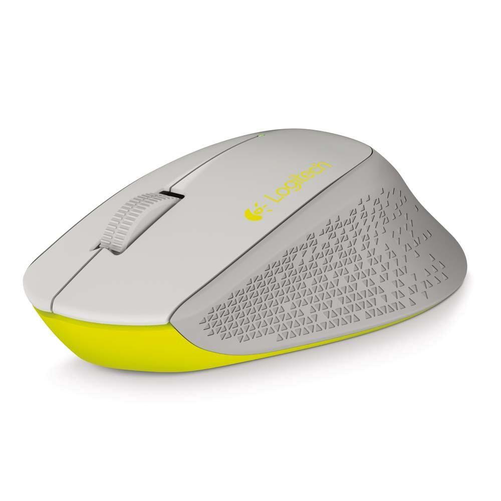 Mouse Logitech Sem Fio M280 Cinza