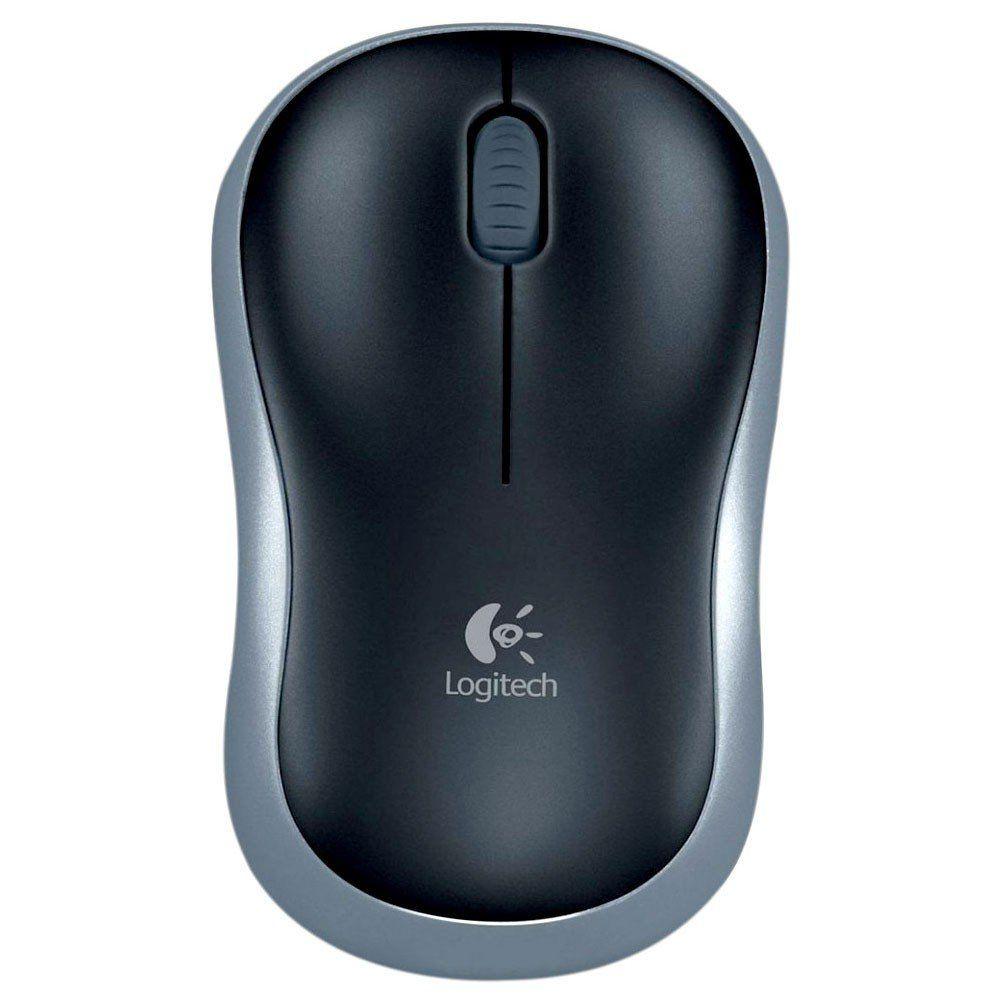 Mouse Logitech Sem Fio Wireless M185