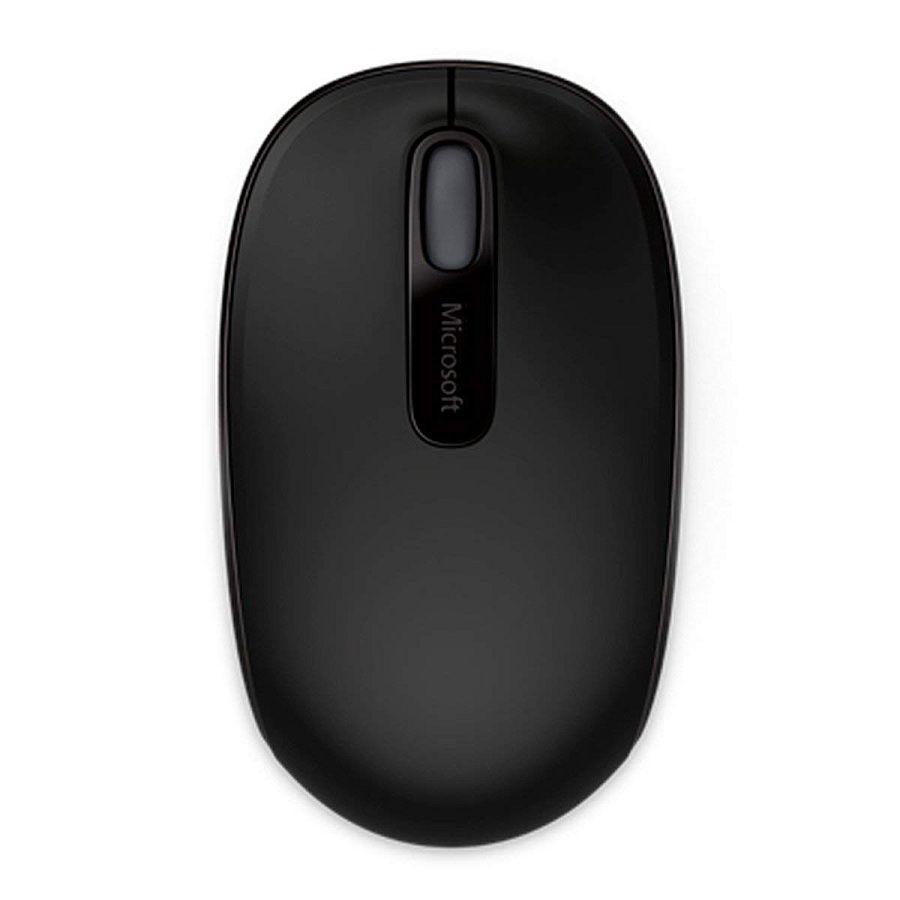 Mouse Óptico Microsoft 1850 Sem Fio Preto