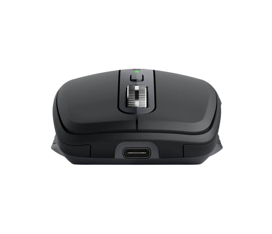 Mouse Sem Fio Logitech  MX Anywhere 3S Preto