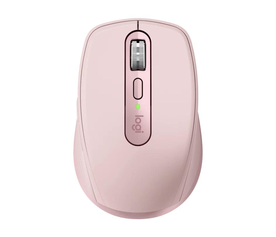 Mouse Sem Fio Logitech  MX Anywhere 3S Rosé