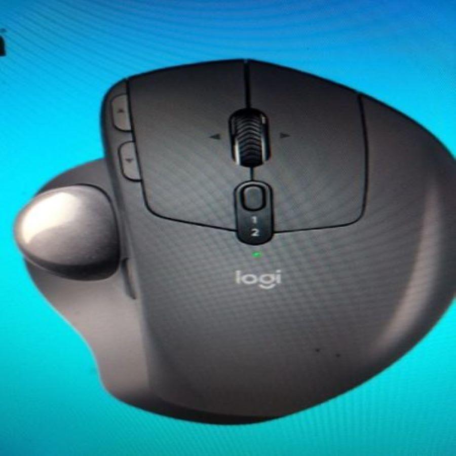 Mouse Sem Fio Logitech Trackball Mx Ergo