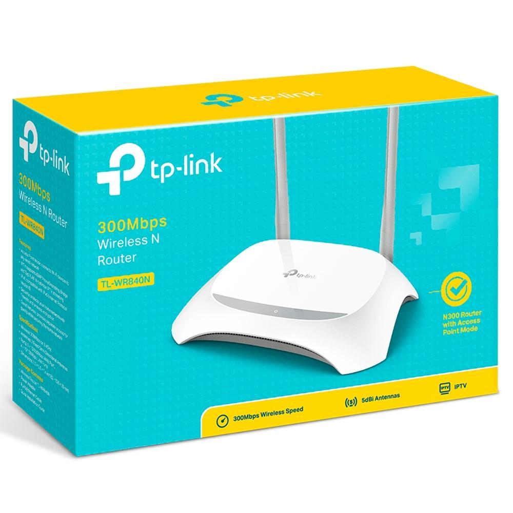 Roteador TP Link WR840N 6.0 300Mbps
