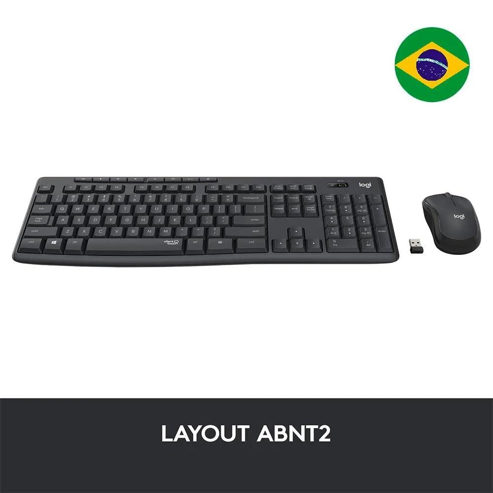 Teclado e Mouse Logitech MK295