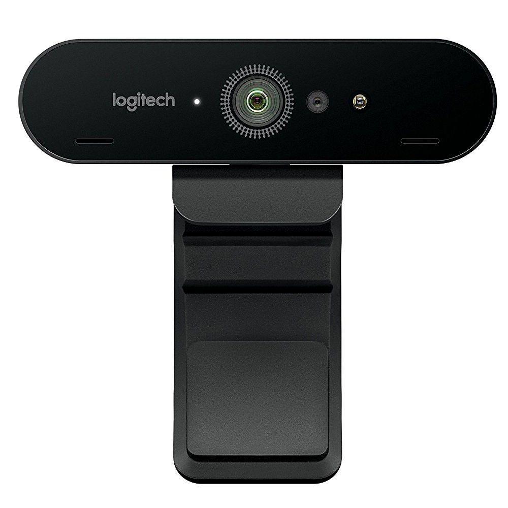 Web Cam Logitech Brio 4K Pro Tecnologia HDR e RightLight 3