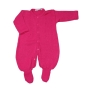 Macacão para Bebê em Tricot Barbante