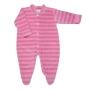 Macacão para Bebê Plush Listrado