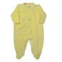 Macacão Plush para Bebê com Botão Estampas Variadas