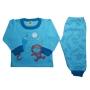 Pijama Infantil Flanelado Estampado Brilha no Escuro