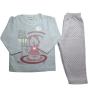 Pijama Infantil Flanelado Estampado Brilha no Escuro Ursinha