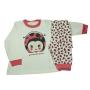Pijama Infantil Flanelado Estampado Joaninha
