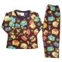 Pijama Infantil Soft Estampado Corujinhas