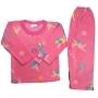 Pijama Infantil Soft Estampado Fadas e Flores