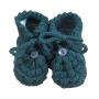 Sapato para Bebê em Tricot Unha de Gato