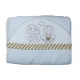 Toalha de Banho para Bebê Nuvem é Balão com Capuz Maxi Dupla