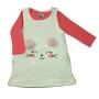 Vestido com Camiseta Manga Longa para Bebê