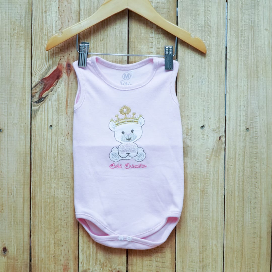 Body para Bebê Regata