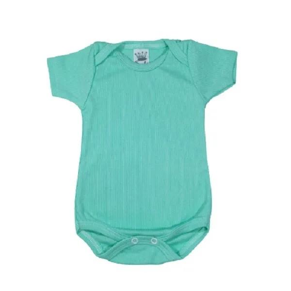 Body para Bebê 80% Algodão Manga Curta