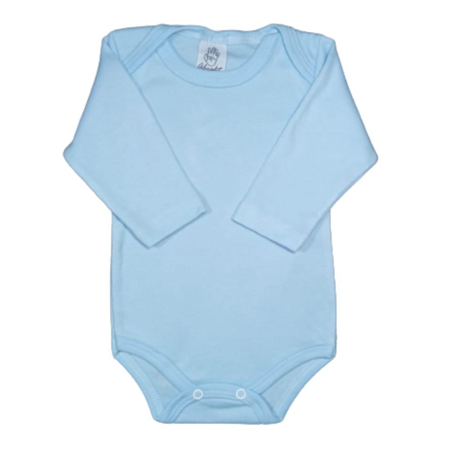 Body para Bebê Canelado Manga Longa