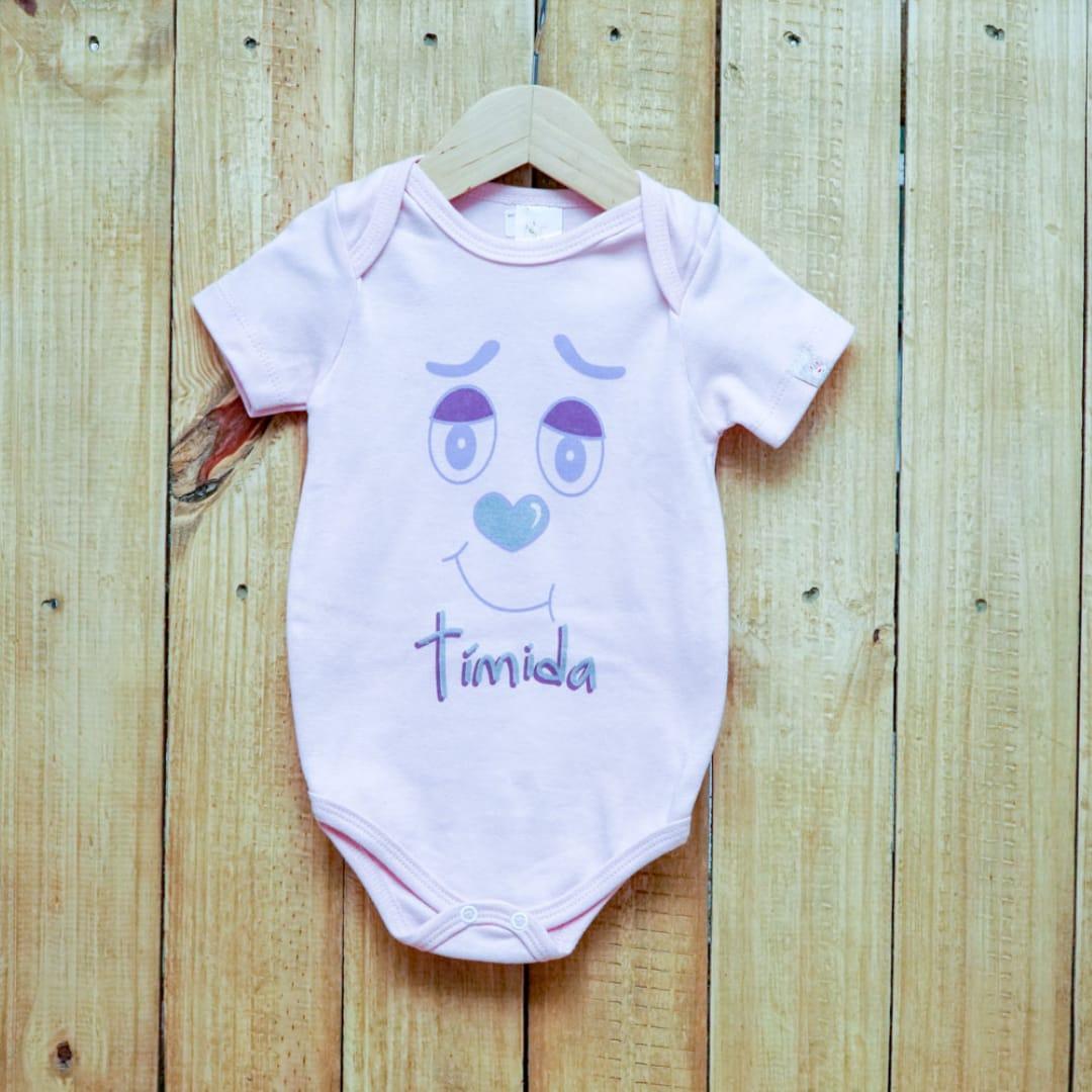 Body para Bebê Manga Curta com Frases